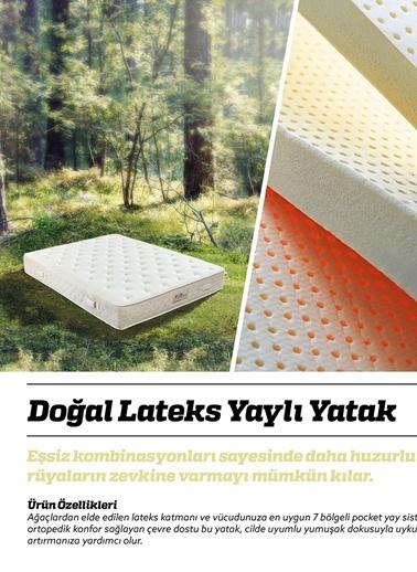 Botanic Pocket Yaylı Yatak 90x190 Cm-Hibboux by Yataş
